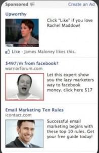 An advertisment for Dr. Ben Adkins on Facebook